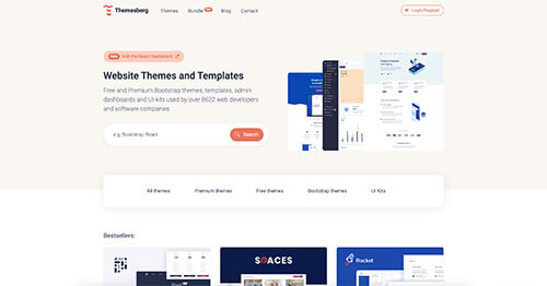 themesberg marketplace